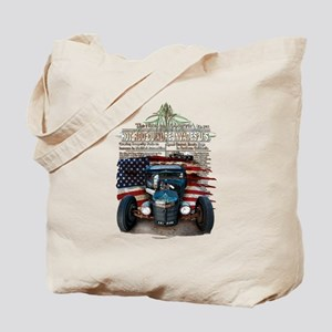 Hot Rod Invasion Tote Bag