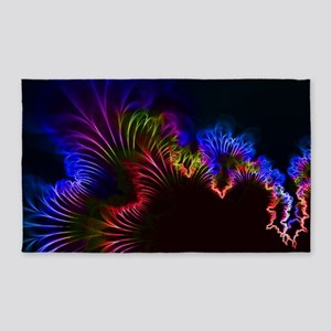 Rainbow Electric Current Wire Area Rug