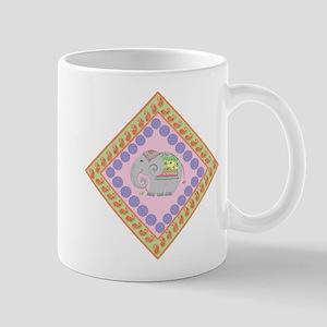 Whimsical Elephant Art Mug