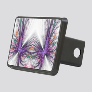 Abstarct Butterfly Rectangular Hitch Cover
