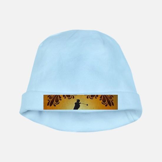 Golfer baby hat