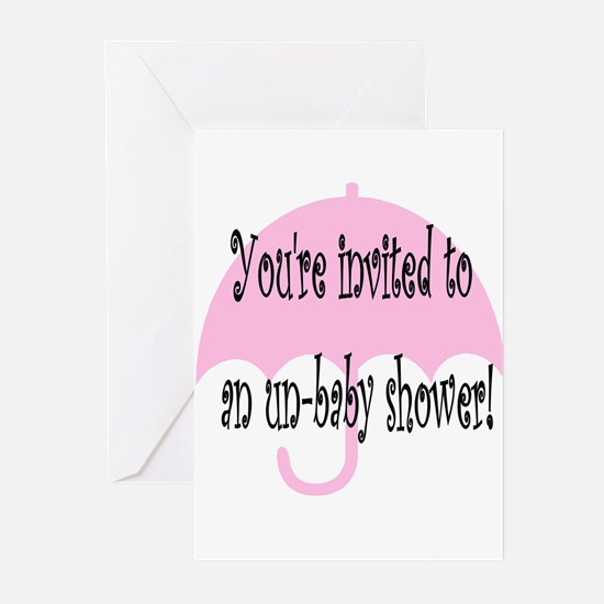 Un-baby shower Cards - celebrate your tubal!