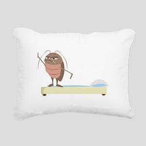 Bed Bug Rectangular Canvas Pillow