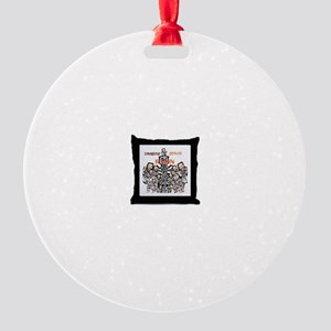 Imagine JESUS Design Line Round Ornament