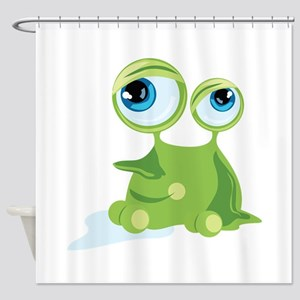 Funny Germ Shower Curtain