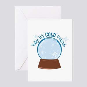 Baby Its Cold Greeting Cards