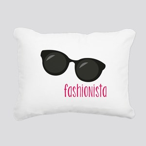 Fashionista Rectangular Canvas Pillow