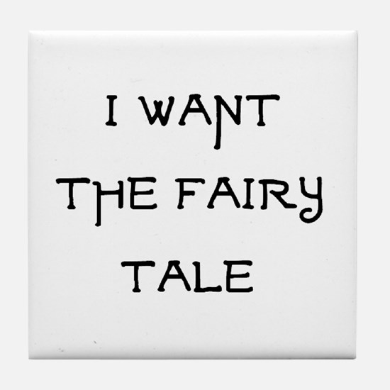 fairy tale Tile Coaster