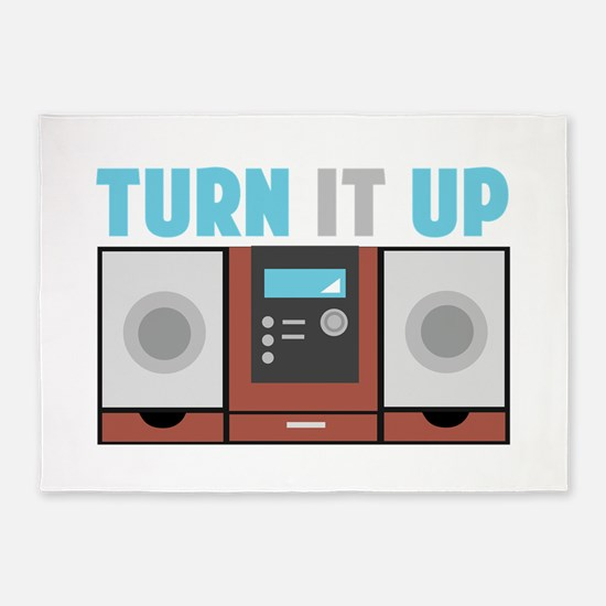 Turn It Up 5'x7'Area Rug