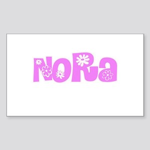 Nora Flower Design Sticker