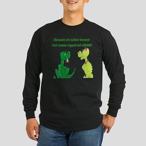 Relationship Long Sleeve Dark T-Shirt