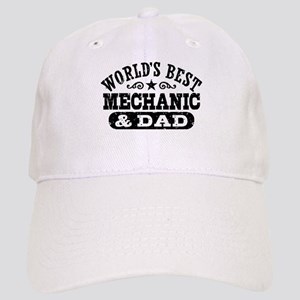 World's Best Mechanic and Dad Cap