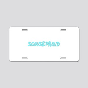 Scouseproud Aluminum License Plate
