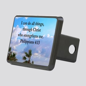 PHILIPPIANS 4:13 Rectangular Hitch Cover