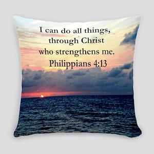 PHILIPPIANS 4:13 Everyday Pillow