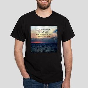 PHILIPPIANS 4:13 Dark T-Shirt