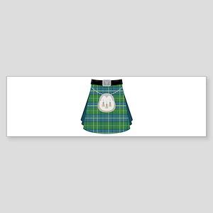 Scottish Kilt Bumper Sticker