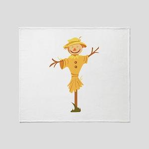 Scarecrow Throw Blanket