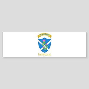 Scottish Heritage Bumper Sticker