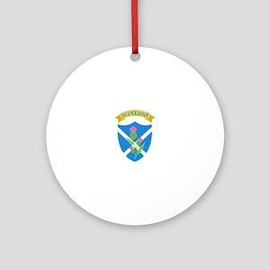 Scotland Ornament (Round)