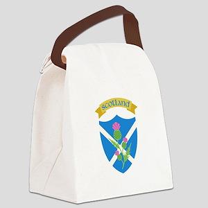 Scotland Canvas Lunch Bag