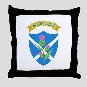 Scotland Throw Pillow