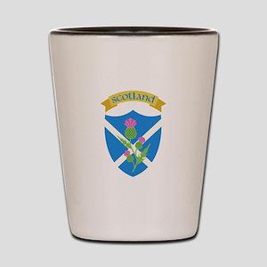 Scotland Shot Glass