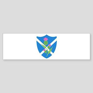 Scottish Shield Bumper Sticker