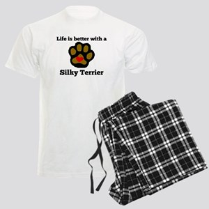 Life Is Better With A Silky Terrier Pajamas
