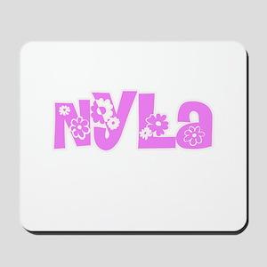 Nyla Flower Design Mousepad