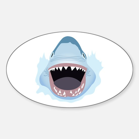 Shark Attack Decal