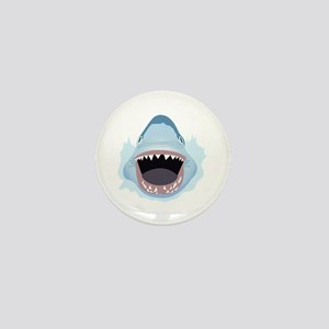 Shark Attack Mini Button