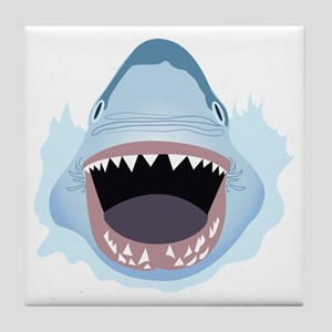 Shark Attack Tile Coaster