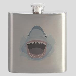 Shark Attack Flask