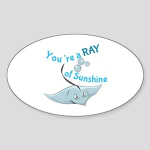 You're A Ray Of Sunshine Sticker