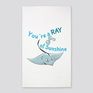 You're A Ray Of Sunshine Area Rug
