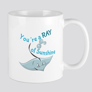 You're A Ray Of Sunshine Mugs