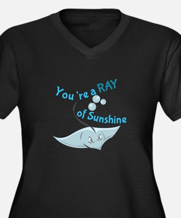 You're A Ray Of Sunshine Plus Size T-Shirt