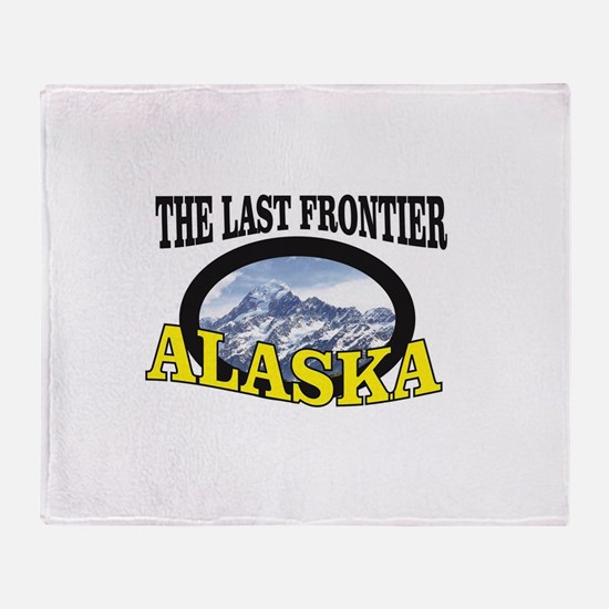 the last frontier ak Throw Blanket