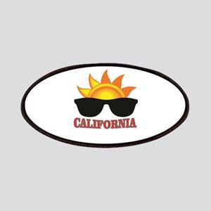 red cali shades Patch