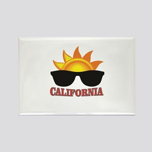 red cali shades Magnets