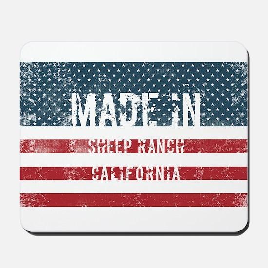 Made in Sheep Ranch, California Mousepad