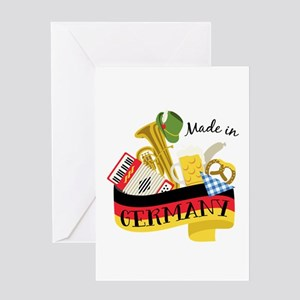 Made In Germany Greeting Cards