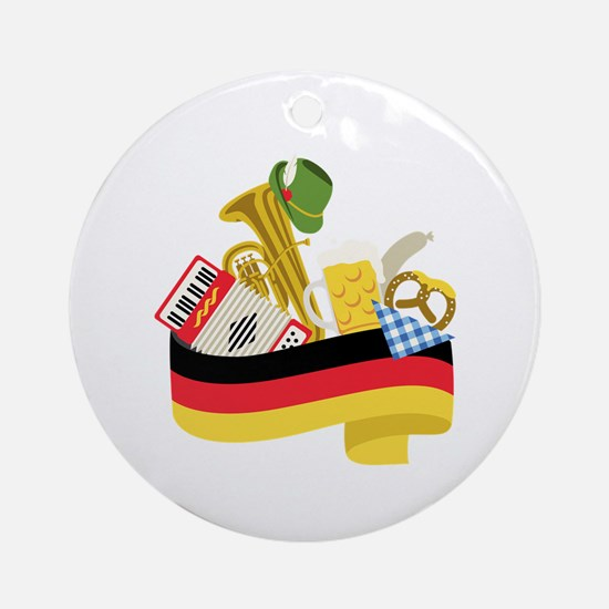 Germany country Ornament (Round)