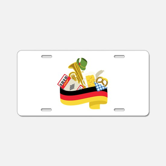 Germany country Aluminum License Plate