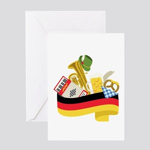 Germany country Greeting Cards