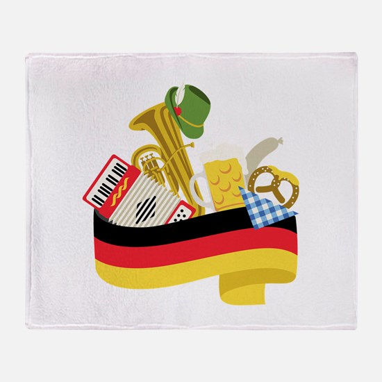 Germany country Throw Blanket