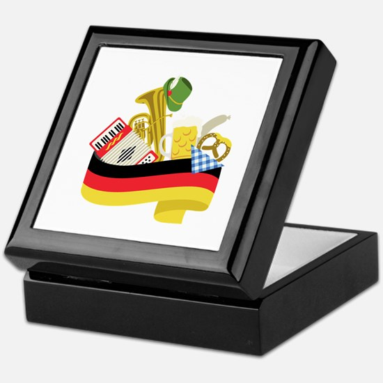 Germany country Keepsake Box