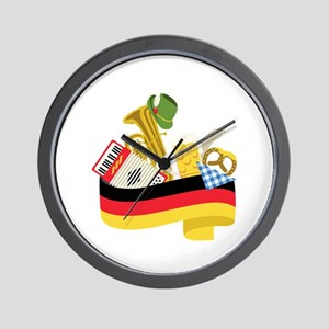 Germany country Wall Clock