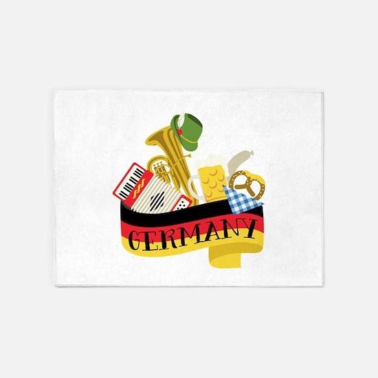 Germany 5'x7'Area Rug